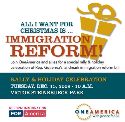 OneAmerica Immigration Reform Rally